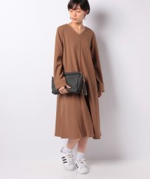 MELROSE Claire/Aラインサックワンピース/501314527