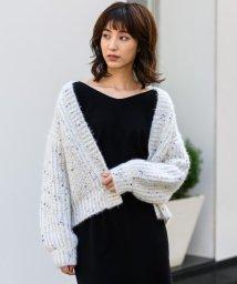 TONAL/ファンシーネップカーデ/501325379