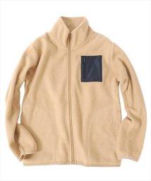 GLAZOS/フリース・ポケット付スタンドジャケット[2色展開]/501351208