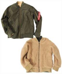 GLAZOS/リバーシブルMA-1ジャケット[2色展開]/501351211