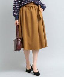 ViS/太ベルト付ギャザースカート/501351301