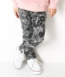 devirock/まるで着る毛布 柄裏シャギーストレッチパンツ スウェットパンツ 裏起毛/501352001