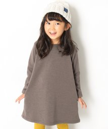 devirock/まるで着る毛布 裏シャギーAラインワンピース 裏起毛/501352003
