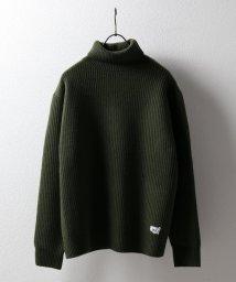 SAVE KHAKI/High Neck Sweater/501352480