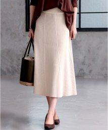 HAPPY EXP/リブニットAラインスカート/501352723