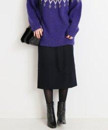 Spick & Span/ミルドウールタイトスカート◆/501353160