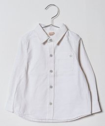 petit main/星刺しゅう入りポケットシャツ/501328717