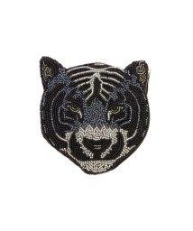 ROSE BUD/タイガーモチーフピーズポーチ/501350530