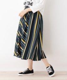 SHOO・LA・RUE Cutie Blonde/マルチストライプ切替スカート/501353907