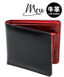 MARUKAWA/【MRU】レザー 2つ折り 財布 サイフ/501294426