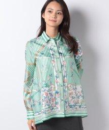 LA JOCONDE/パネルプリントワイドシャツ/501313806