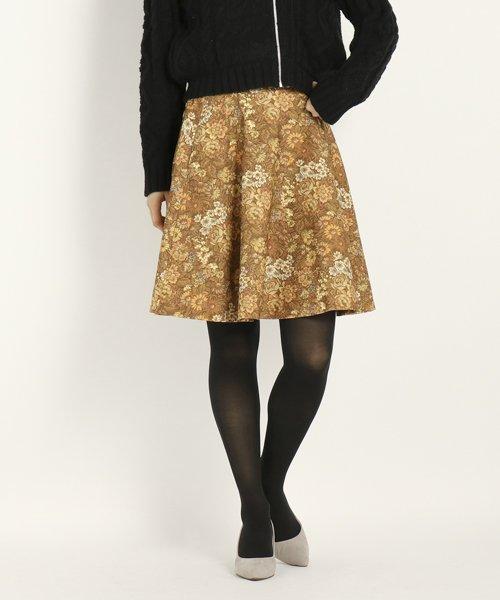 UNIVERVAL MUSE(ユニバーバル ミューズ)/ゴブランハイテンション スカート/8574406