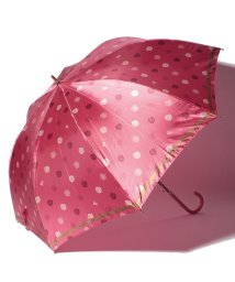 LANVIN Collection(umbrella)/LANVIN COLLECTION 婦人長P30Dサテンプリント整列花/501342726