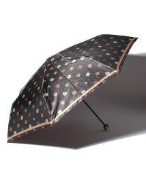 LANVIN Collection(umbrella)/LANVIN COLLECTION 婦人ミニP30Dサテンプリント整列花/501342727