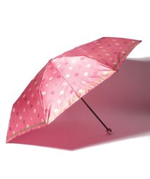 LANVIN Collection(umbrella)/LANVIN COLLECTION 婦人ミニP30Dサテンプリント整列花/501342727