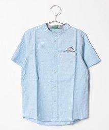 BENETTON (UNITED COLORS OF BENETTON BOYS)/ポケットチーフ付きマオカラーシャツ/501351338