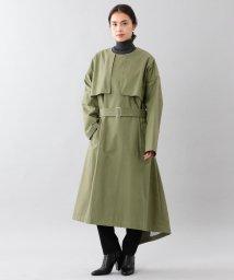 SANYO(WOMEN'S)/<BLUEFLAG+kiminori morishita>アルミコットンギャバジンノーカラーコート/501354963