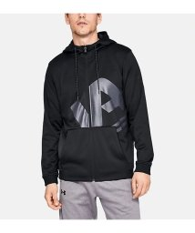 UNDER ARMOUR/アンダーアーマー/メンズ/UA ARMOUR FLEECE BIG LOGO FZ HOODIE/501357163