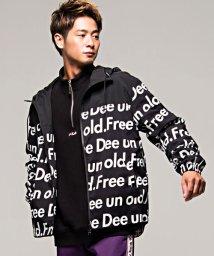 FREEDEE UN OLD/FREEDEE UN OLD【フリーディー】総柄ロゴプリントマウンテンパーカー/501357459