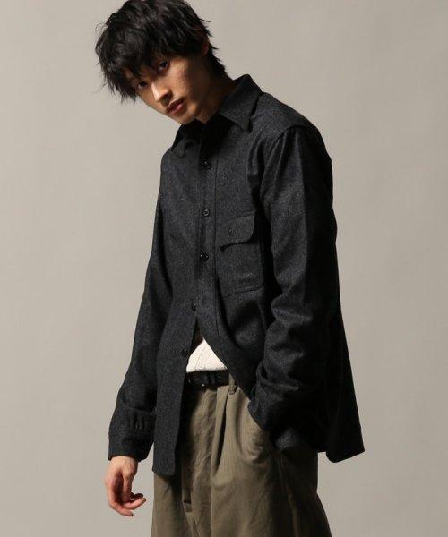 J.S Homestead(ジャーナルスタンダード ホームステッド)/Wool Flannel CPO シャツ/18050470201030