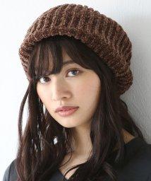 coen/モールニットベレー帽(ニット帽)/501357815