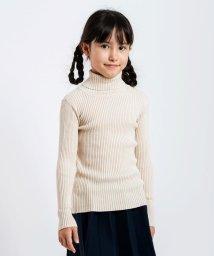 SHIPS KIDS/SHIPS KIDS:リブ タートルネック ニット(無地)(XS~XL)/501357870