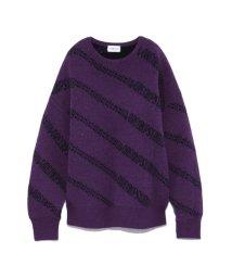 FRAY I.D/オーバーサイズロゴセーター/501358080