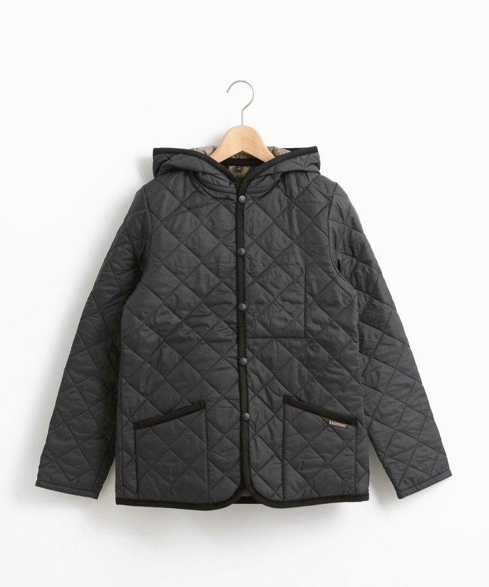 le.coeur blanc ラベンハムキルティングフードジャケット