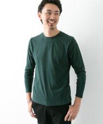 URBAN RESEARCH/【ROSSOMEN】スーピマコットンクルーネックロングTシャツ/501326114