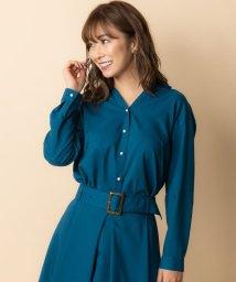 TONAL/【セットアップ対応商品】ギャバパール釦オープンシャツ/501349633