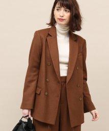 ROPE' mademoiselle/【セットアップ対応】フラノダブルブレストジャケット/501350607