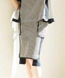 INTERPLANETSELECT/【セットアップ対応商品】【RAW FUDGE】チェーンラッセル×パールニットスカート/501352520
