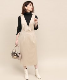 ROPE' mademoiselle/サテンカルゼジャンパースカート/501359011