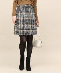 ROPE' mademoiselle/ツイードミニスカート/501359111