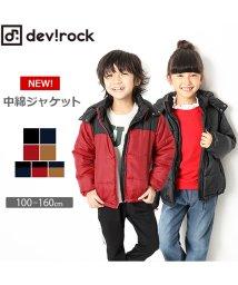 devirock/【nina's11月号掲載】無地ベーシック中綿アウター ジャンパー/501360089