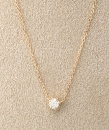 DECOUVERTE/18KYG 0.2ct ダイヤモンド ネックレス H&C/501360420