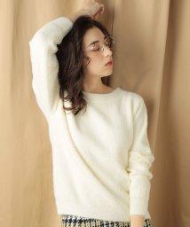 Bou Jeloud/★【定番人気】ふんわりショートシャギ-ニット/501352561