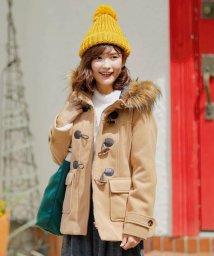 SHOO・LA・RUE Cutie Blonde/フード付ショートダッフルコート/501363349