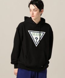 PULP/【PULP】GUESS / ゲス GUESS LOGO HOODIE/501363413