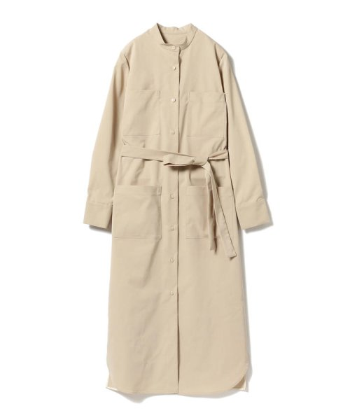 BEAMS OUTLET(ビームス アウトレット)/Demi-Luxe BEAMS / 4ポケット シャツワンピース/68260345594