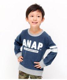 ANAP KIDS/カットデニム×ミニ裏毛/501346517