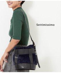 Settimissimo/エコファーデザインショルダーバッグ/501347157