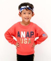 ANAP KIDS/USAロゴBIGトレーナー/501347206