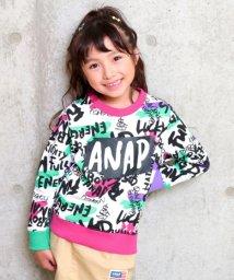 ANAP KIDS/カラフルメッセージ柄トレーナー/501347213