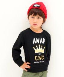 ANAP KIDS/KINGプリントトレーナー/501347216