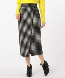 NOLLEY'S/シャギーチェックタイトスカート/501353476