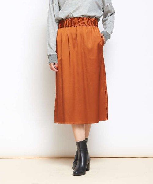 collex(collex)/collex サテンスカート/60370212007