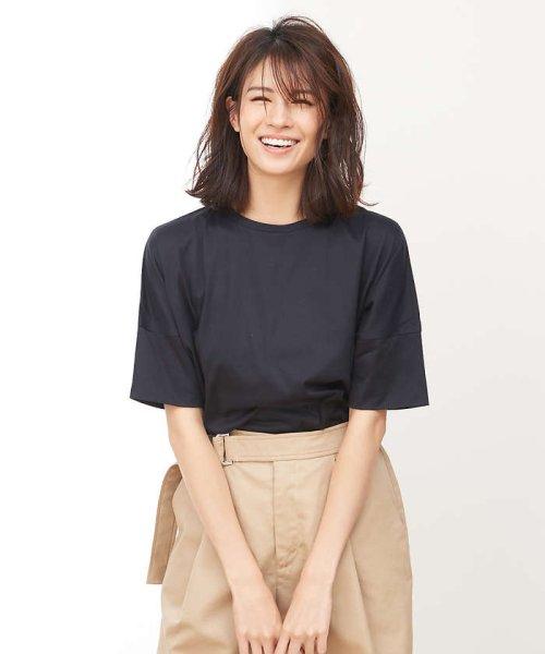 collex(collex)/綿シルケット天竺Tシャツ/60370606010