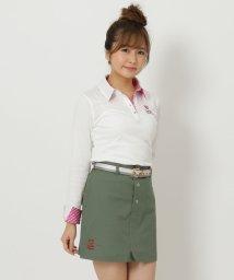 Samantha Thavasa UNDER25&NO.7/ハートワッペンポロシャツ/501363883