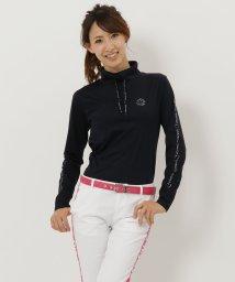 Samantha Thavasa UNDER25&NO.7/サイドロゴ入りハイネックシャツ/501363884